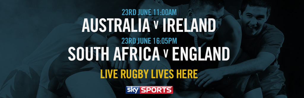 Live Rugby at The Horseshoe Bar