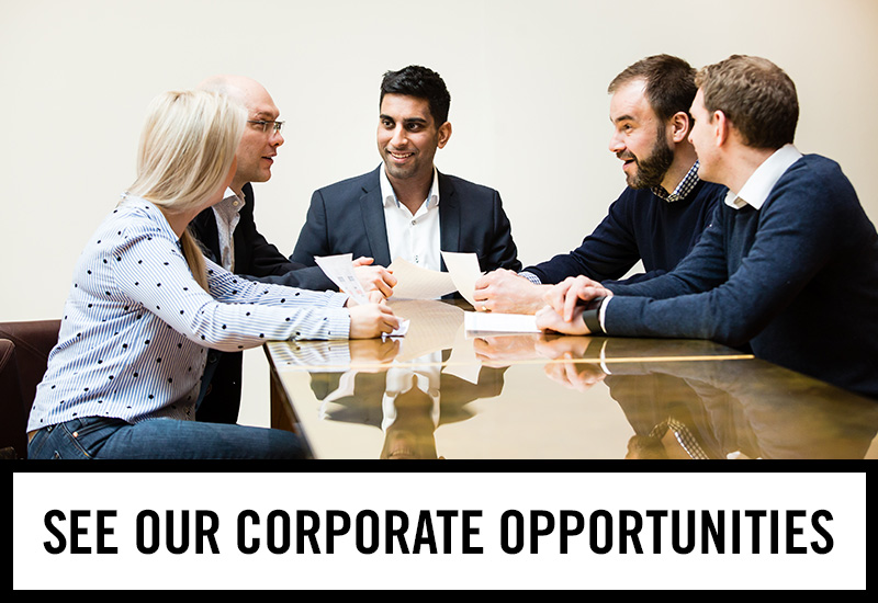 Corporate opportunities at The Horseshoe Bar