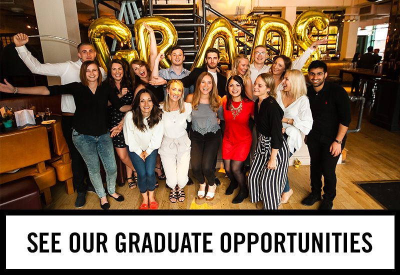 Graduate opportunities at The Horseshoe Bar